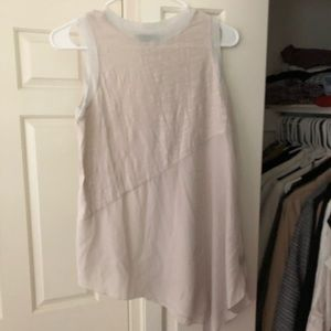 Vera Wang asymmetrical blouse size small